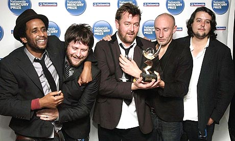 Elbow Winning the Music Prize