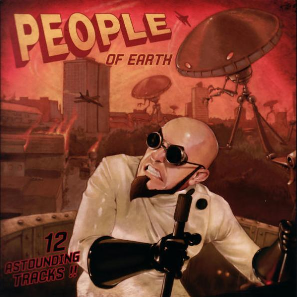 Dr. Steel - People of Earth Album Cover